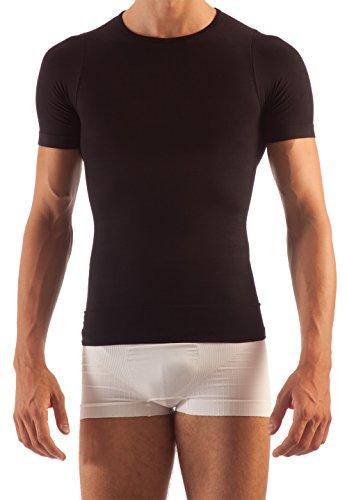 FarmaCell Man 419 Figurformendes T-Shirt Herren Schwarz