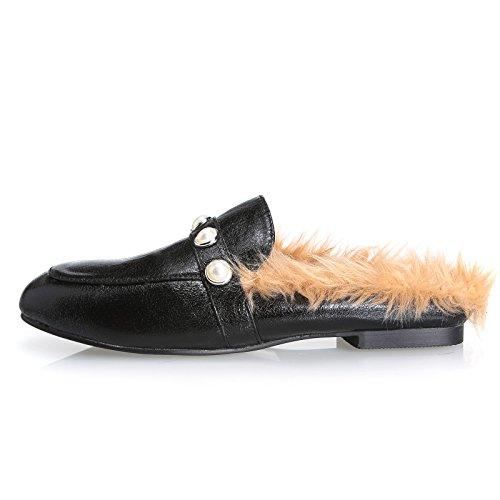 Chaussures Homme Cuir Confortable mode Homme chaussure de ville BCHT-XZ209Jaune46 OAF4iYO5IJ