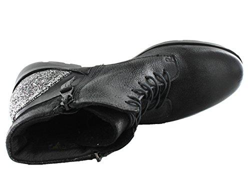 Mjus 584204-0201-0001, Bottes Classics courtes, doublure chaude femme Noir