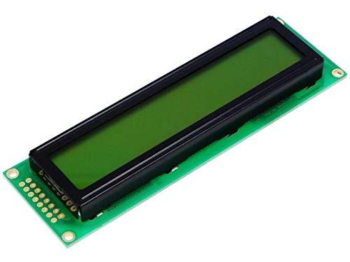 DEM24252SYH-LY Display LCD alphanumeric STN Positive 24x2 LED Char -
