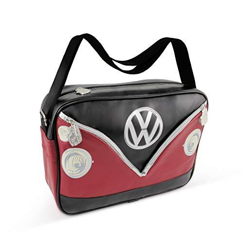 Bolso bandolera VW Bulli en el negro/rojo