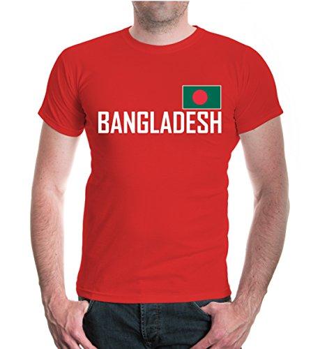 buXsbaum® T-Shirt Bangladesch Red-