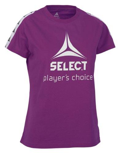 Select Damen T-Shirt Ultimate Lila