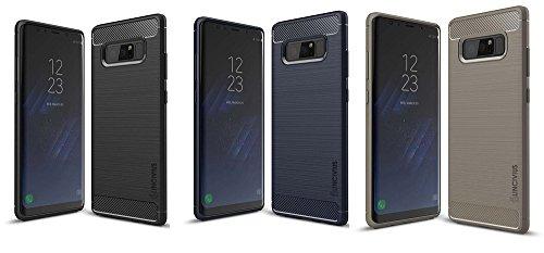 Gel Case Pack (Lincivius Samsung Note 8 Hülle, Note 8 Hülle Pack 3 Cases Gel Design Original Pack 3 Cases Zubehör TPU Silikon Dünn Cover)