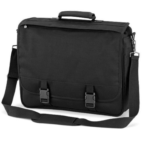 Shirtstown Portfolio Briefcase, Schultertasche, Umhängetasche schwarz