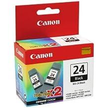 Canon 6881A009 - Pack 2 cartucho tinta, color negro