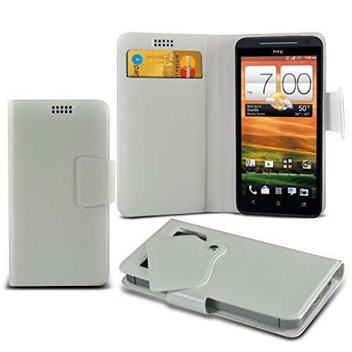 white-htc-evo-4g-lte-protective-mega-thin-faux-leather-suction-pad-wallet-case-cover-skin-with-credi