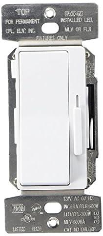 Eaton DAL06P-C5 Al Series Single Pole/3-Way Decorator Dimmer Switch, Color