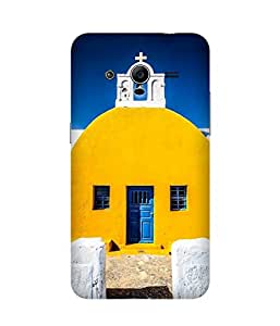 Yellow White And Blue Samsung Galaxy Core 2 Case
