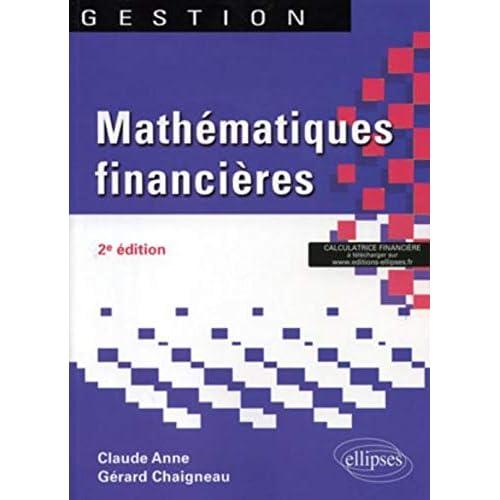 Mathématiques financières 2e édition
