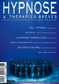 HYPNOSE ET THERAPIES BREVES n°14 (revue internationale en lange française)