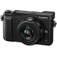 Panasonic Lumix DMC-GX80KEGK Kit Fotocamera Mirrorless GX80 e Obiettivo 12-32mm, 16 MP, Nero