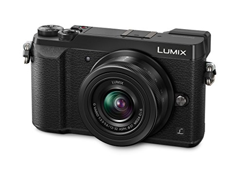 "Panasonic Lumix DMC-GX80 - Cámara digital (12 - 32mm, 16 MP, 4/3"" Live MOS 4592 x 3448 pixeles), color negro"