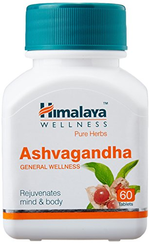 Himalaya Wellness Ashvagandha General Tablets (60 PCS)