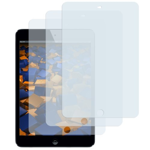3x mumbi Schutzfolie iPad Air / iPad Air 2 / iPad 2017 (9.7 Zoll) Folie Displayschutzfolie