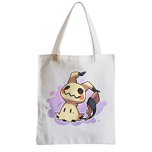 fabulous Große Tasche Sack Einkaufsbummel Strand Schüler Pokemon Pikachu mimikyu Aussenseiter-Videospiele