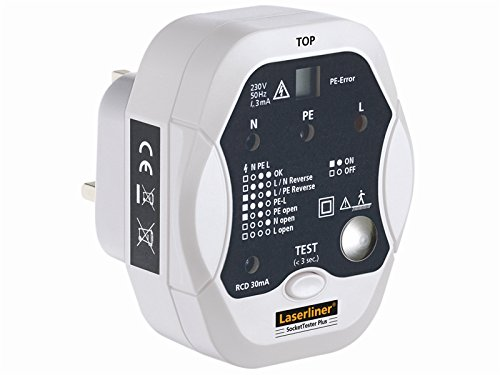Preisvergleich Produktbild Umarex Steckdosen-Tester Livetester Plus,  1 Stück,  083.027A