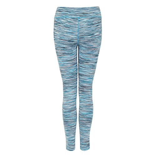 Green Lamb Jodie Kidd Collection Legging-Collant de cours'à pied/Fitness pour femme Multicolore - Bigarré