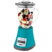 Oster Monterrey - Batidora de vaso, 450 W, 8 velocidades, color aguamarina