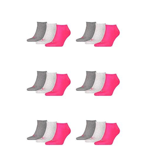 Puma Coppia Scarpa Mens Di Tennis Medio Melange 656 Unisex Calzini Rosa Invisibili Da Grigio Ladies 18 SEgxHqWW