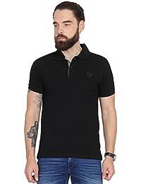 Black Cotton T-shirt by Urban Nomad