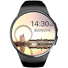 Reproducción de Vídeo Reloj digital reloj mejor regalo para niños £ ¬ número de pasos grabado/Pantalla Táctil (color negro) reloj digital atractiva