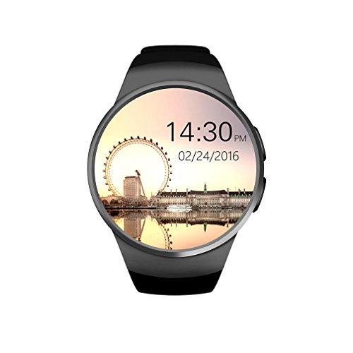 Herzfrequenz Armbanduhr Für Kid , Schrittzähler & Alarm Ist Verloren & Kalender Aktivitäts-Tracker Mit Smart Watch & Sport Armbanduhr ( Schwarz )