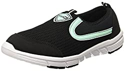 Force 10 (from Liberty)) Womens Black Running Shoes - 6 UK/India (39 EU)(5814014100390)