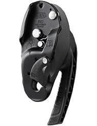 Petzl Abseilgerät Rig - Material de rappel y descenso, color negro, talla DE: 10 - 11,5 mm