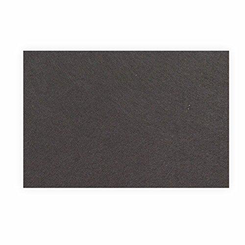 Preisvergleich Produktbild Filz zum basteln selbstklebend A4 schwarz Klebefilz farbig