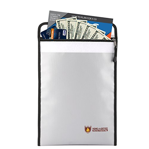 Luxspire Fireproof Document Bag, 15