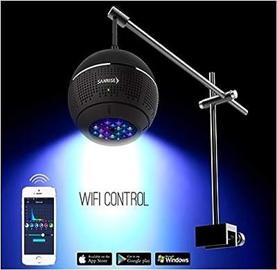 WML-LIGHT L'aquarium de LED la lumière de WiFi de contrôle de puces de Commande contactent l'éclairage en Eau de mer for Le récif de Corail Marin de réservoir de Poissons de mer Corail Aquarium