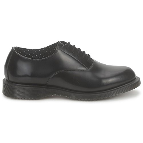 Dr.Martens Womens Bennett 5-Eyelet Leather Shoes Black