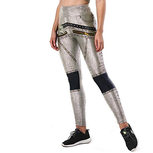 Frauen Yoga Leggings Damen Trocknen Sport Laufhose Hohe Taille Elastische Joggingböden Fit Für Gym Fitness Pilates Workout,2,M