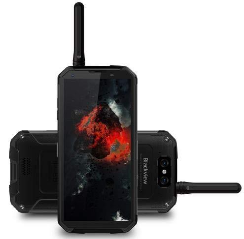 """Blackview BV9500 PRO, Walkie-Talkie&10000mAh-Schnellladeakku, IP68/IP69K Wasserdicht/Stoßgesichert/Android 8.1 Smartphone 5.7\"""" 18:9 Full HD Bildschirm, 2.5GHz Octa Core 6GB+128GB, Schwarz"""