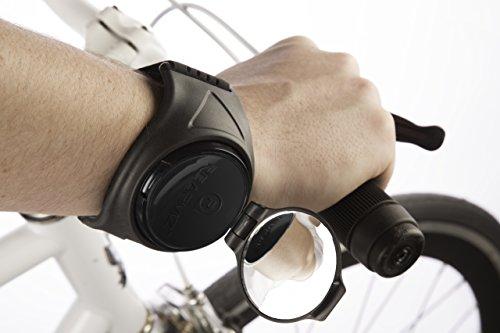 rearviz Noir Classique-Bras de fixation arrière Vision Miroir pour les cyclistes