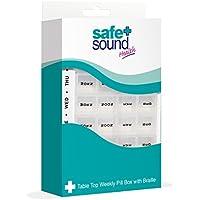 SAFE AND SOUND Tisch Top Weekly Pille Veranstalter preisvergleich bei billige-tabletten.eu