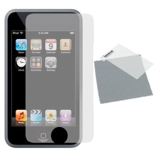 APPLE iPOD TOUCH 2° G, 3 G, inkl. Reinigungstuch), 3 Stück-Hi TEC ESSENTIALS Ipod Screen Guard