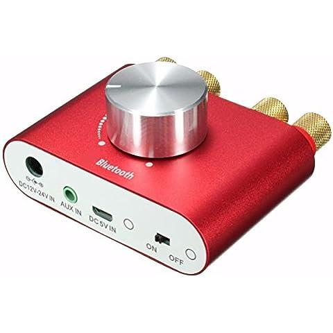 Mini Bluetooth Stereo Audio Amplificatore, ELEGIANT Doppio Canale Ampli Amplificatori Audio Ricevitore Amplificatori stereo Scheda (Ipod Impianto Stereo)