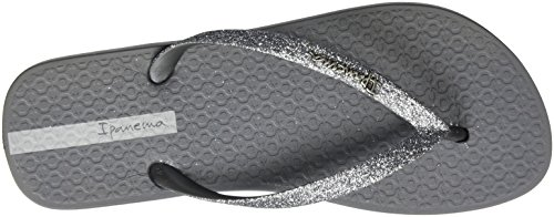 Ipanema Lolita Iii Fem, Tongs Femme Grau (grey/silver)