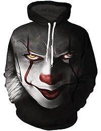 G-Anica Sudadera con Capucha Hombre 3D Impresión Pullover Sudaderas De Tendencia Hoodie Sweatshirt de Mangas Largas Bolsillos Unisex