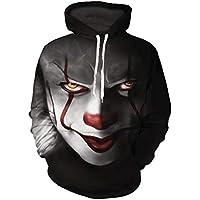 Sweat à Capuche Hommes 3D Imprimer Pull Sweatshirt Manche Longue Vêtements  de Sport pour Couples avec b74d35ff5993