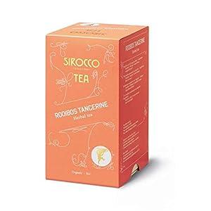 SIROCCO TEA (Suisse - 1908) - ROOIBOS TANGERINE (rooibos et mandarine) - 20 sachets de thé bio