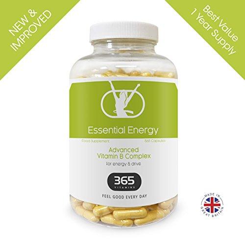 Vitamin B Complex | New Improved | High Strength Formula Containing all 8 B Vitamins B1, B2, B3, B5, B6, B12, D-Biotin, Folic Acid, plus PABA & L-Glycine | Suitable for Vegetarians & Vegans Test