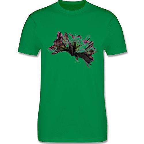 Blumen & Pflanzen - Orchidee Timelapse - Herren Premium T-Shirt Grün