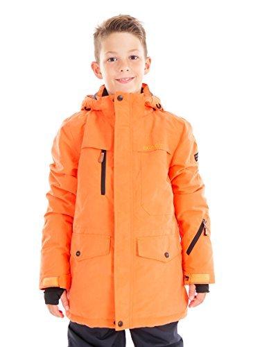 hneejacke Montano orange schnelltrocknend warm (152) (Ski-jacken Jungen)