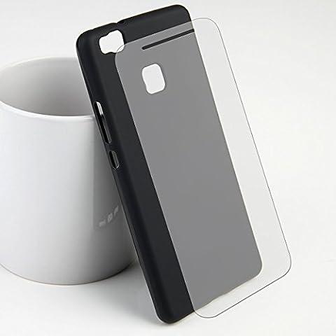 TPU Silicona Carcasa Case Mate Efecto para su Apple iPhone o Huawei funda Back Cover Bumper Carcasa
