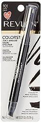 Revlon Colorstay 2 in 1 Angled Kajal Waterproof Eyeliner (Onyx)