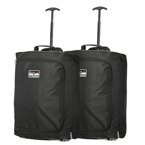 Lot de 2 Trolley 42L Bagage Cabine Ryanair 55x40x20...