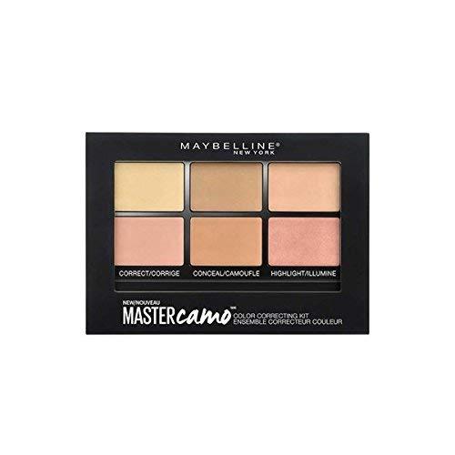 Glamorous Mart - Maybelline New York Meister Camo Concealer Palette, Mittel, 5,5 g